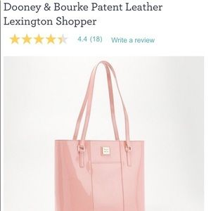Dooney & Bourke leather shopper